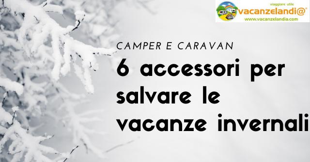 camper caravan 6accessori inverno