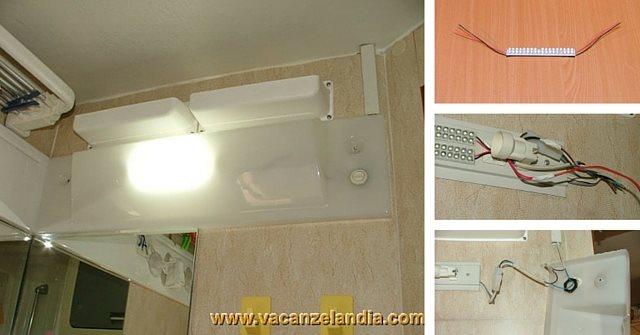 Plafoniere Con Lampadine : Migliorie sostituzione lampadine incandescenza con led plafoniera