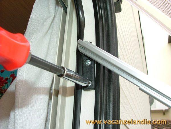 Riparazioni sostituzione del braccio della finestra - Finestra fai da te ...
