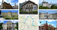 collage germania romantische strasse baviera 200s