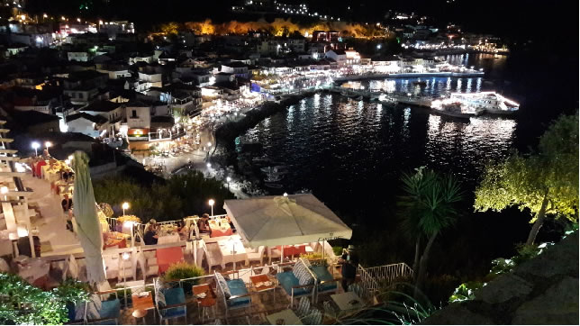 grecia albania praga by night