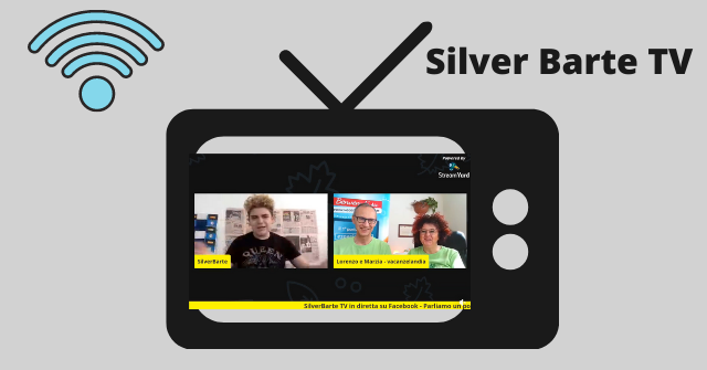 Silver Barte TV camper mansardati