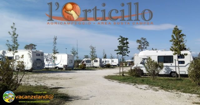 agricampeggio orticillo area camper piombino