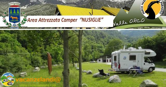 area camper nusiglie locana