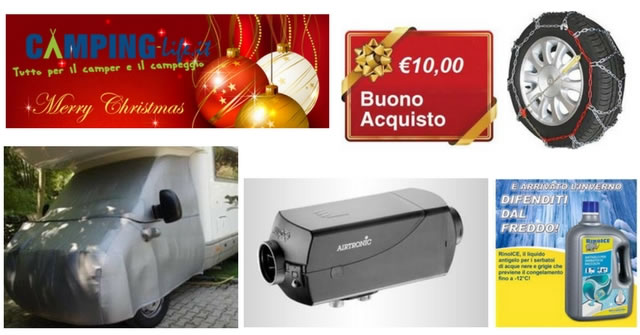 camping life offerte natale 2017