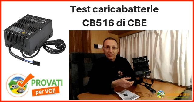 cbe caricabatteria cb516 provato