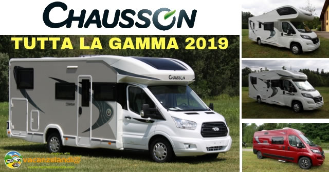 Chausson camper gamma 2019