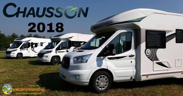 chausson camper nuova gamma 2018