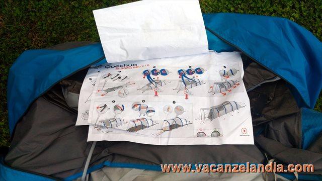 Illuminazione soggiorno quechua: provati per voi test tenda famiglia