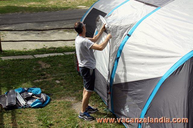 Tenda da campeggio seconds fresh black posti decathlon