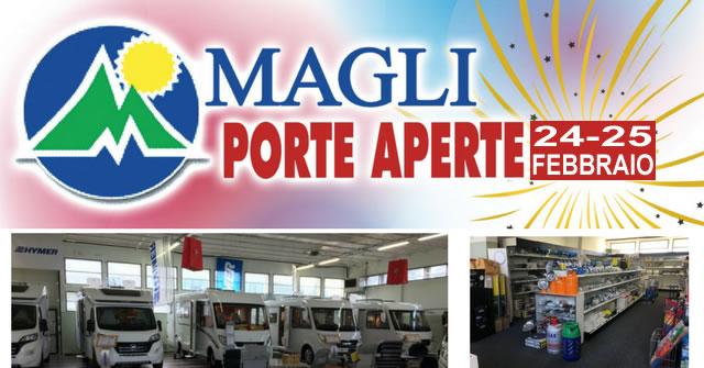 MAGLI PORTE APERTE 24 25 02 2018