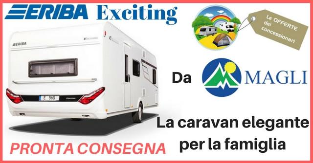 magli offerta caravan 1