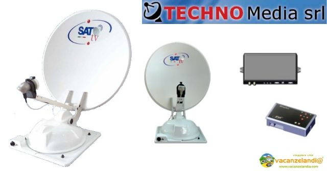 antenne satellitari automatiche camper techno media