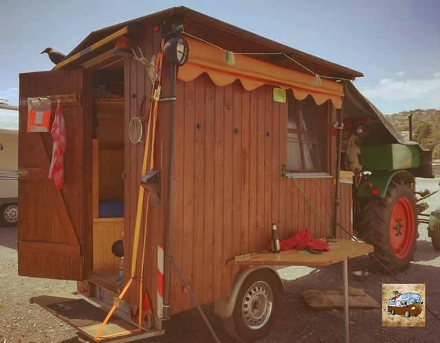 camper trattore arca noi tre 640s