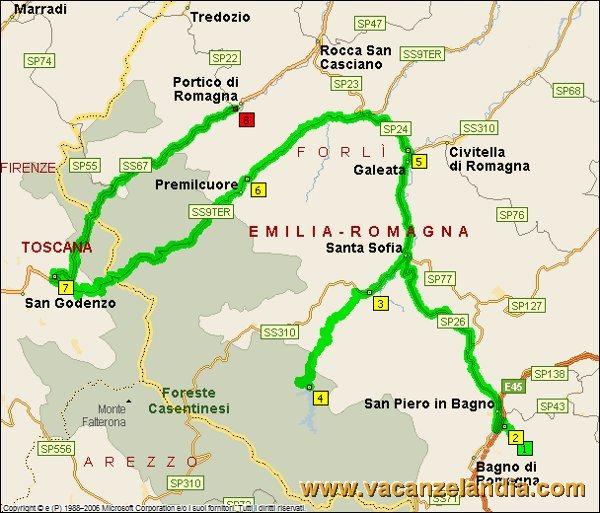 Itinerari Diari di Viaggio Emilia Romagna - Toscana: Bagno di ...
