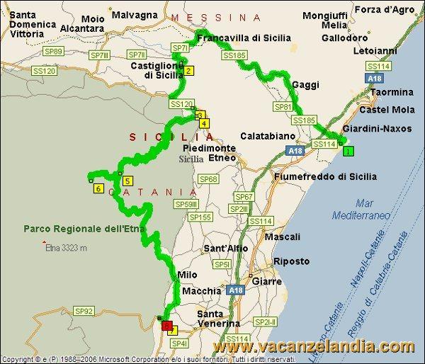 Itinerari diari di viaggio sicilia parte sud orientale 5o tappa mappa sicilia sud orientale 2005 4 altavistaventures Images