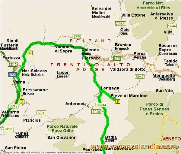 Itinerari Diari di Viaggio Trentino Alto Adige San Vigilio di ...